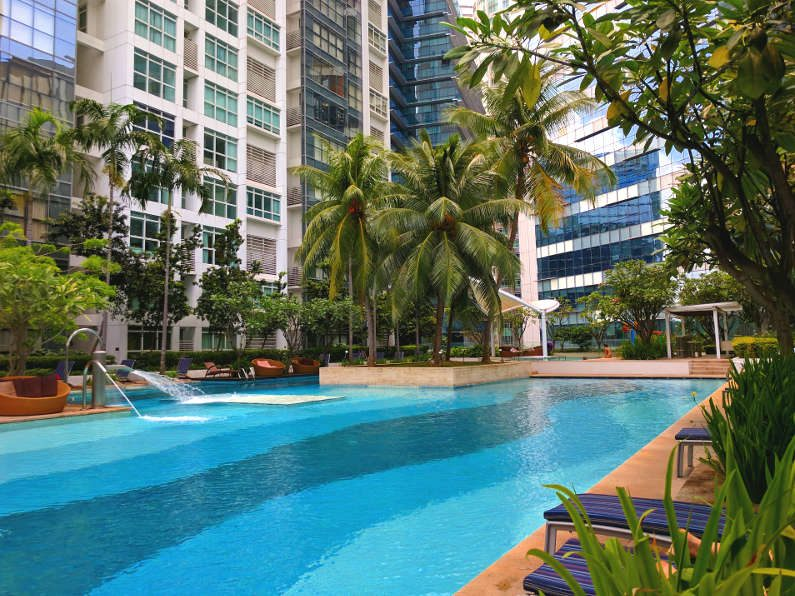 Our New Pool in Singapore