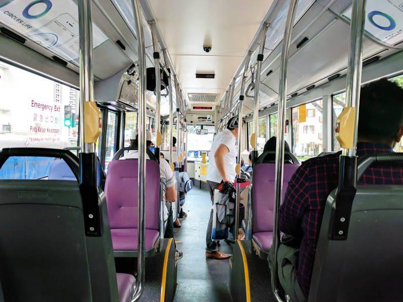 Singapore Bus Interior