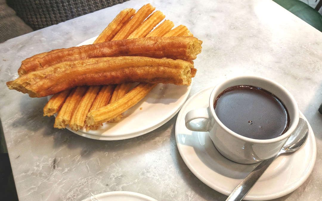 Madrid's Chocolate Churros at Chocolateria San Gines