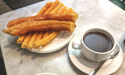 Madrid's Chocolate Churros at Chocolateria San Gines