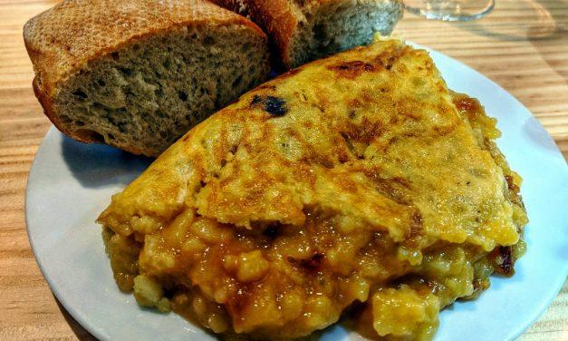 Eating Madrid Tortillas at Casa Dani