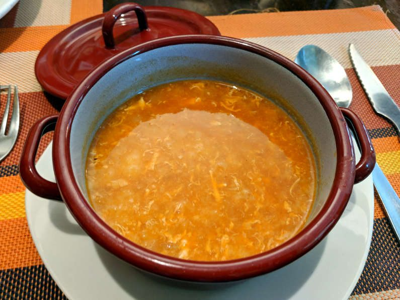 El Alambique Soup