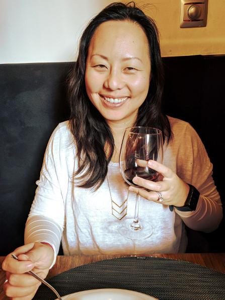 La Tragantúa Nadia with Wine
