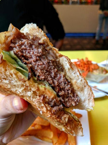 Mercado de San Antón Foie Burger
