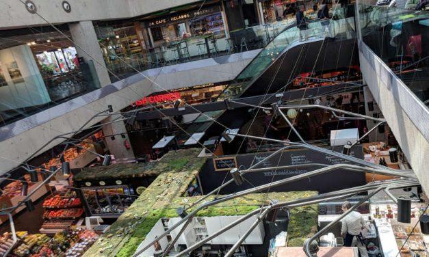 Exploring Madrid's 3 Story Mercado de San Antón