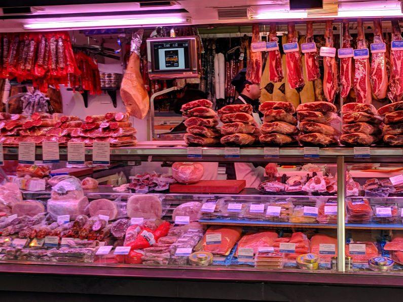Mercado de la Paz Butcher 02