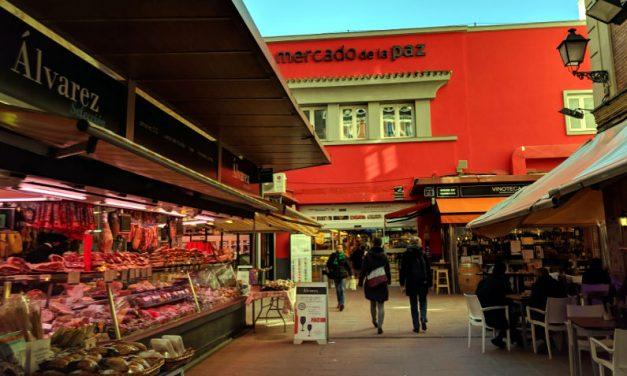 Biting into Mercado de La Paz and Madrid's History