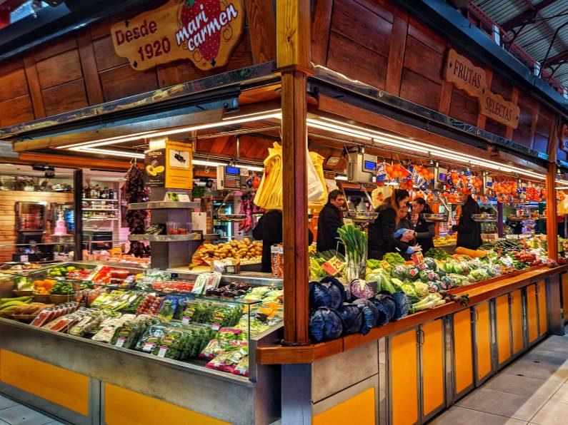 Mercado de la Paz Vegetables