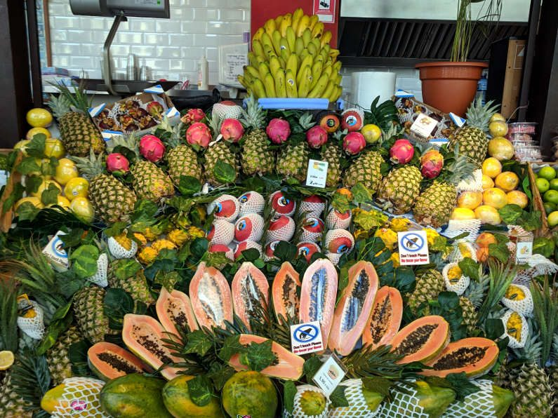San Miguel Market Fruits Stand