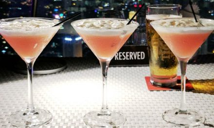 Drink Singapore Cocktails at 1-Altitude