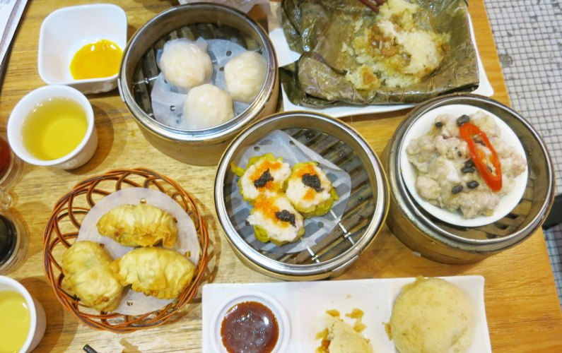 Eat Hong Kong Dim Sum at Ding Dim