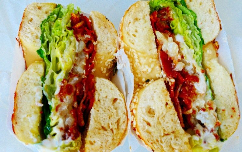 Avocado Bacon Two Men Bagel Singapore 02