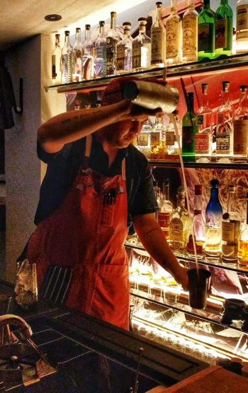 Bartender Mixing a Drink Junior Singapore