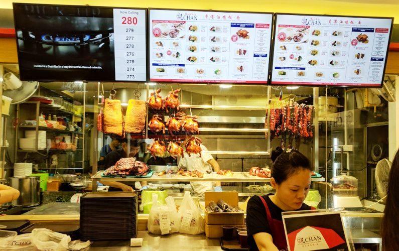 Behind the Counter Liao Fan Hong Kong Singapore