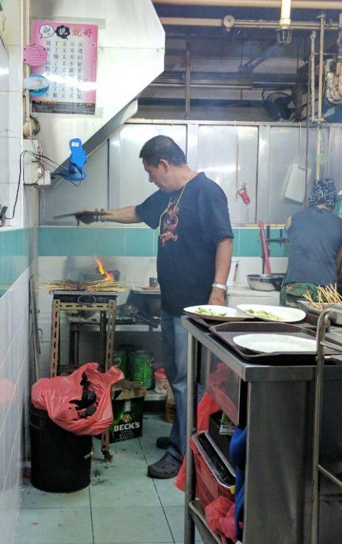 Chef at Work Shi Xiang Satay Singapore