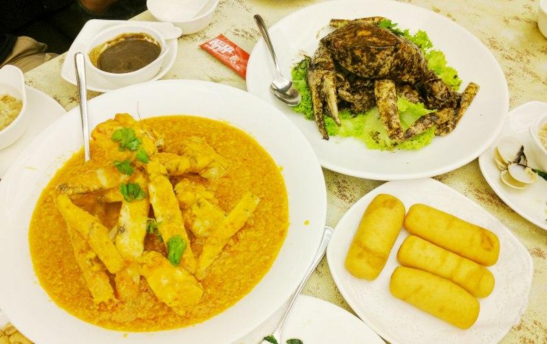 Eat Singapore Crab at Long Beach