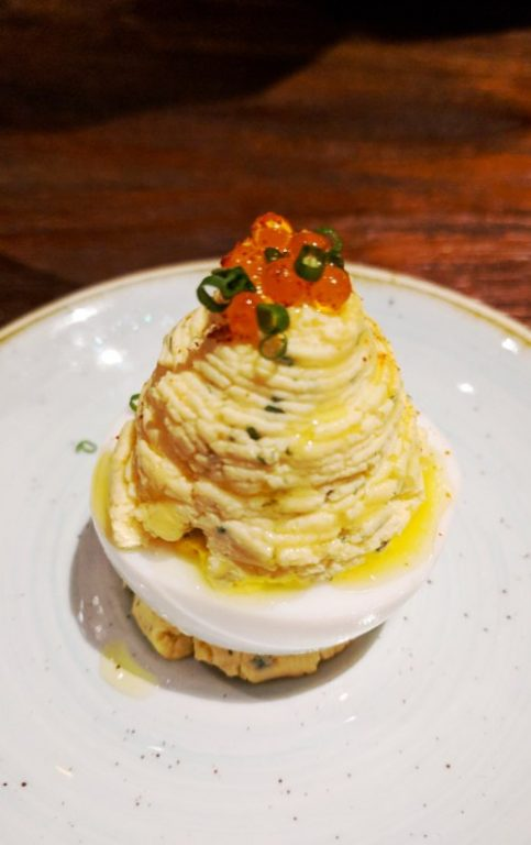 Deviled Egg The Bird Southern Table Singapore