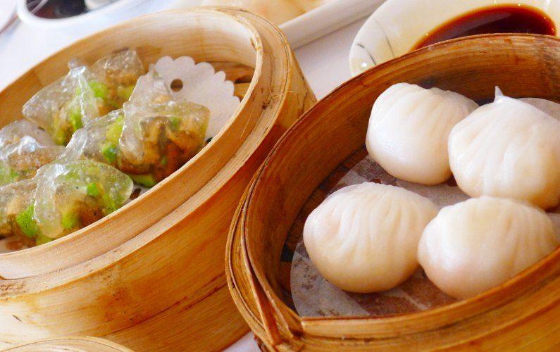 Dumplings Dragon King Hong Kong China