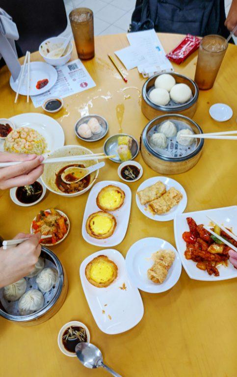 Eating Dim Sum at Swee Choon Tim Sum