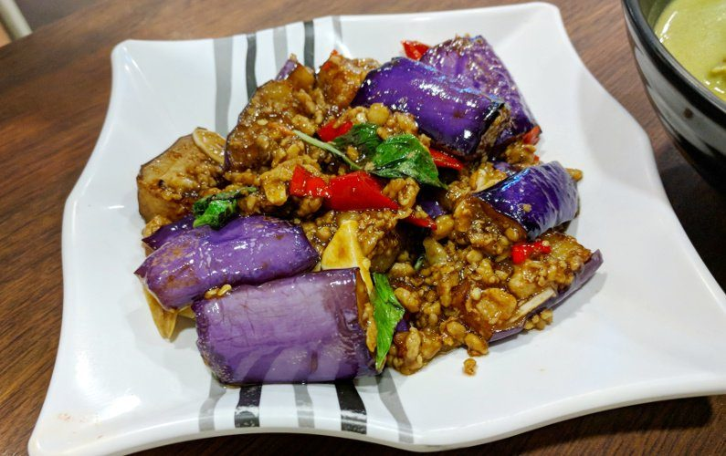 Eggplant Thai Tantric Singapore