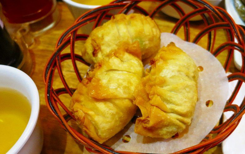 Fried Dumpling Ding Dim Hong Kong China