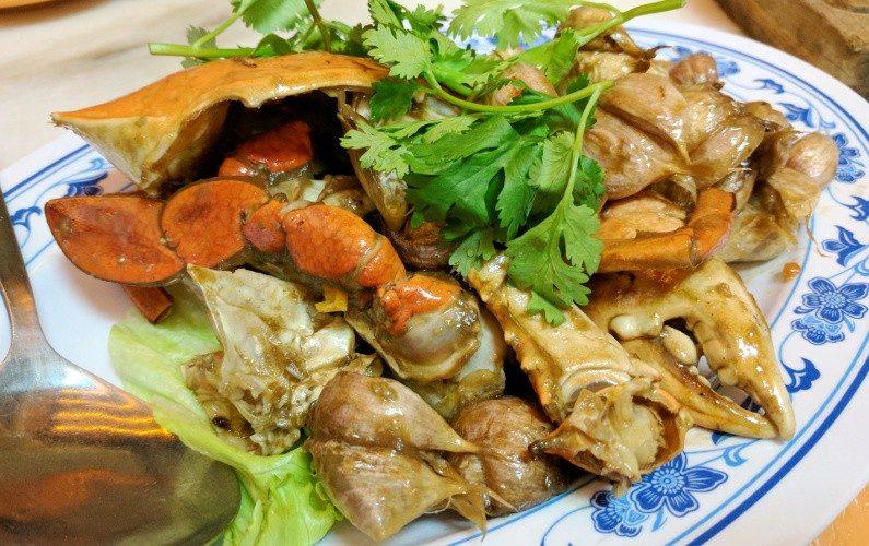 Garlic Crab New Ubin Seafood Singapore