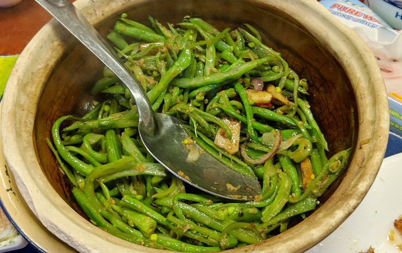 Green Beans Tung Po Kitchen Hong Kong