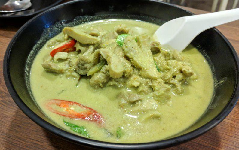 Green Curry Thai Tantric Singapore