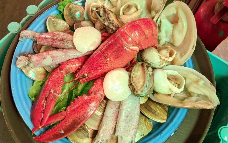 Lobster and Shellfish Suppa Hong Kong China