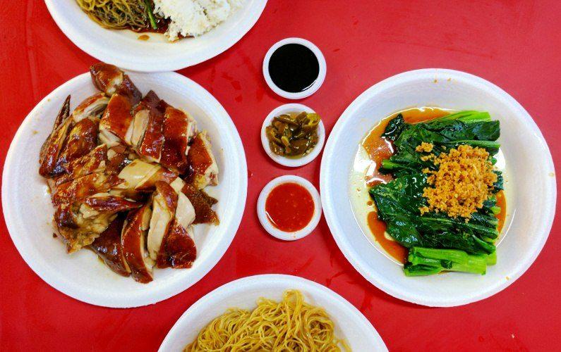 Chicken Meal Liao Fan Hong Kong Soya Sauce Singapore 02