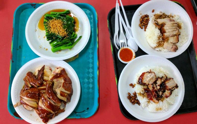 Roasted Meat Meal Liao Fan Hong Kong Soya Sauce Singapore