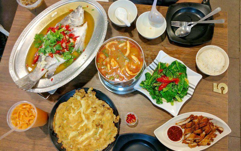 Meal Thai Tantric Authentic Thai Cuisine Singapore