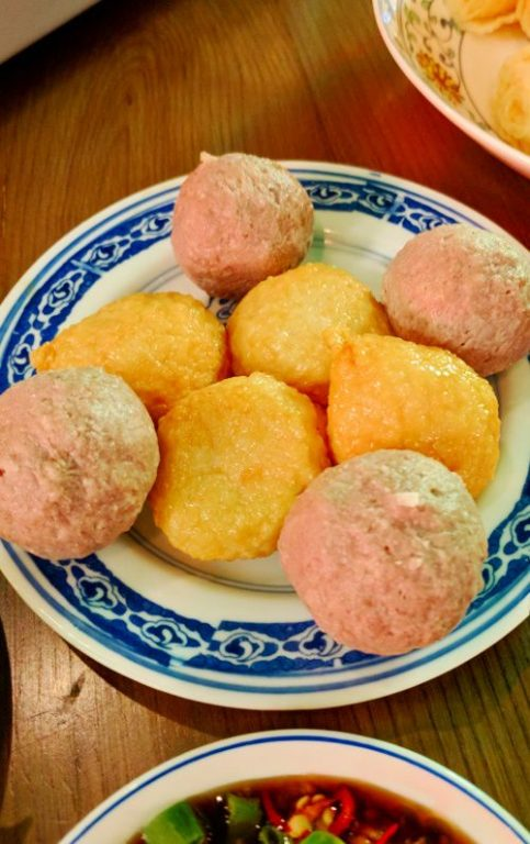 Meat and Fish Balls Suppa Hong Kong China