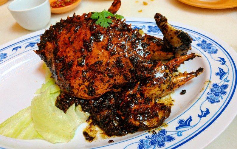 Pepper Crab New Ubin Seafood Singapore