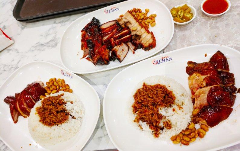 Eat Singapore Chicken Rice at Brick and Mortar Liao Fan Hong Kong