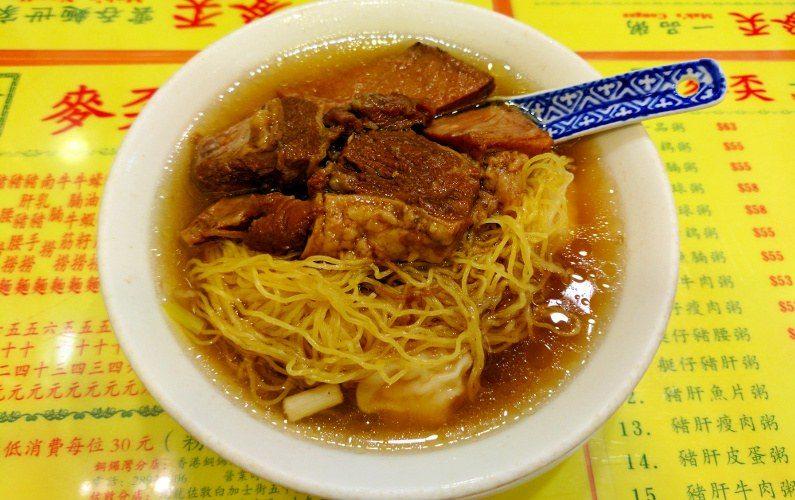 Pork Noodle Maks Noodle Hong Kong China 05
