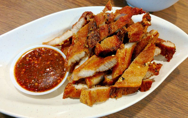 Pork Thai Tantric Authentic Thai Cuisine Singapore