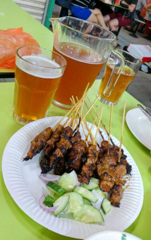 Satay and Beer Shi Xiang Satay Singapore