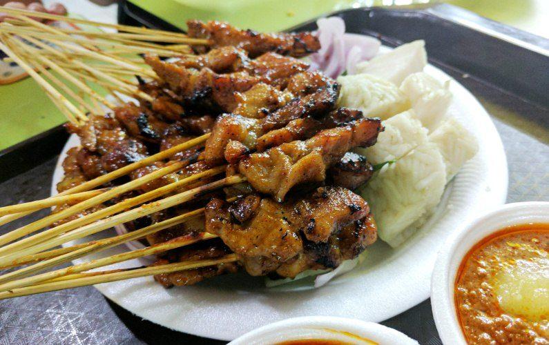 Satay and Rice Cake Shi Xiang Satay Singapore