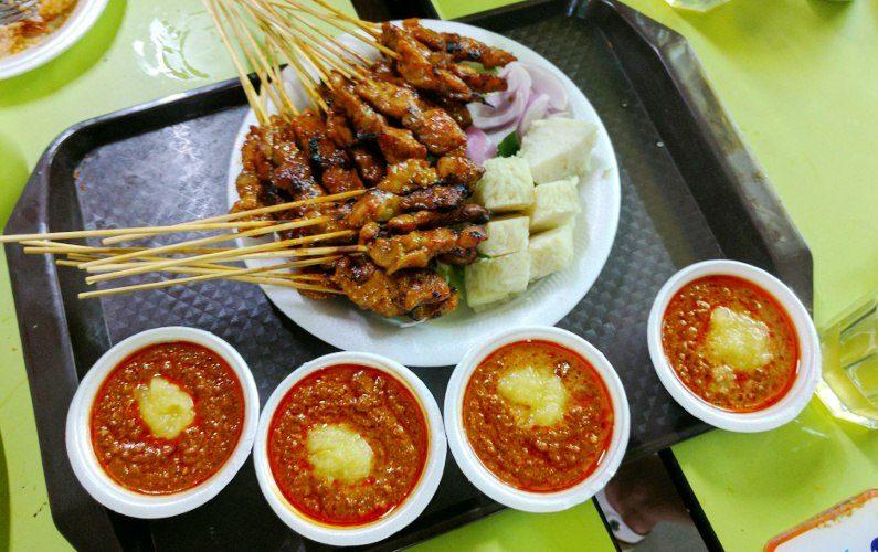 Satay and Sauce Shi Xiang Satay Singapore