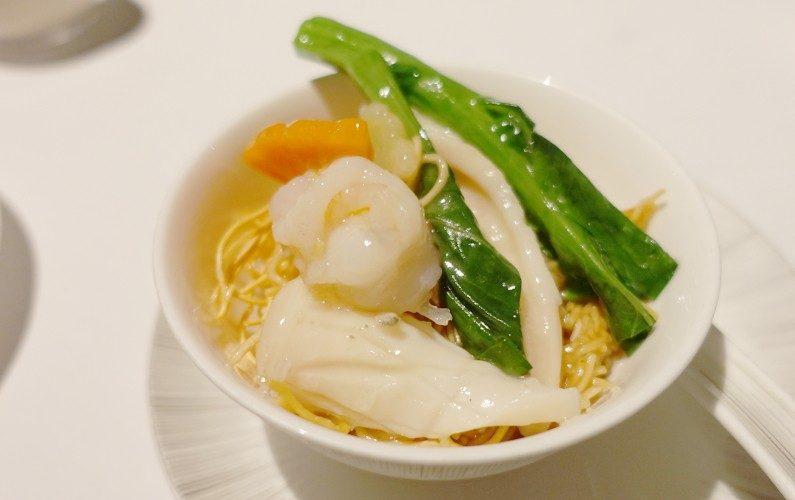 Seafood Noodle Yan Toh Heen Hong Kong China