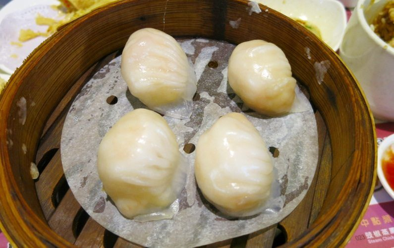 Shrimp Dumpling One Dim Sum Hong Kong China