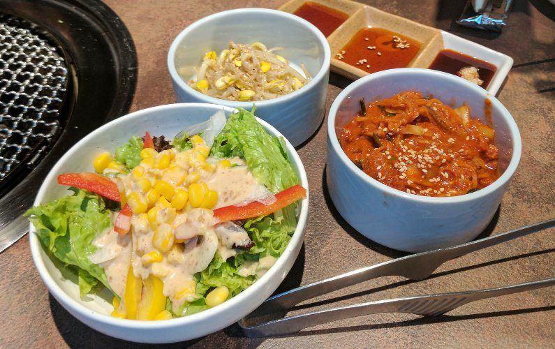 Side Dishes Yakiniku Heijoen Singapore