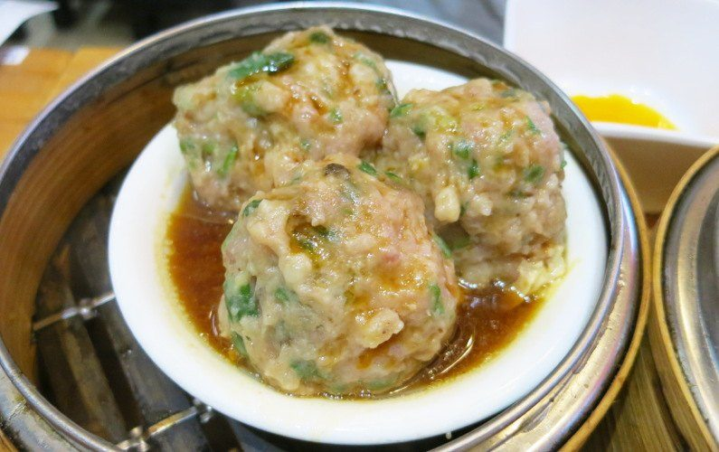 Steamed Meat Ball Ding Dim Hong Kong China