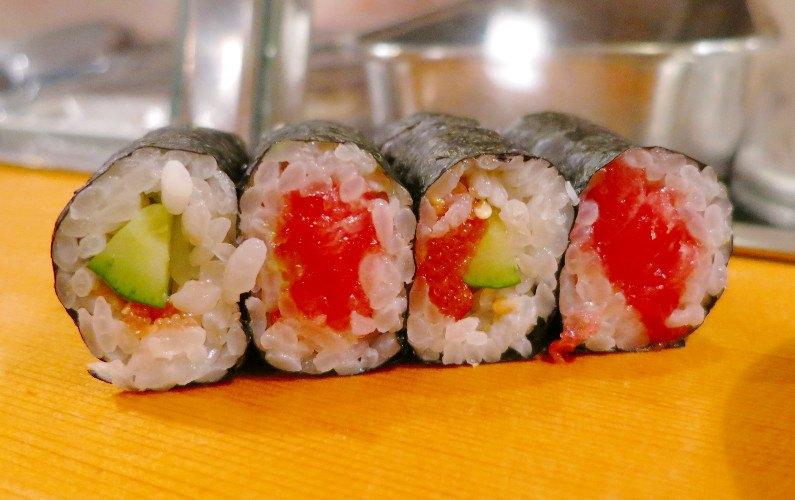 Sushi Roll Sushi Dai Tokyo Japan