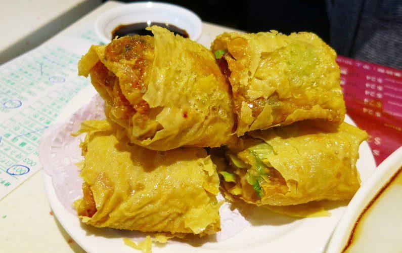 Tofu Skin One Dim Sum Hong Kong China