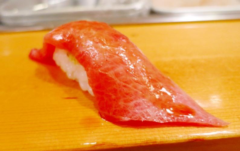 Tuna Nigiri Sushi Dai Tokyo Japan 03