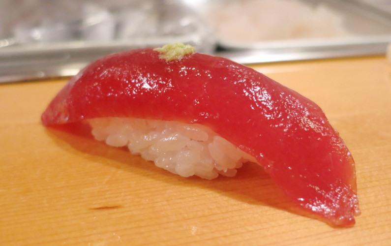 Tuna Nigiri Sushi Dai Tokyo Japan 04