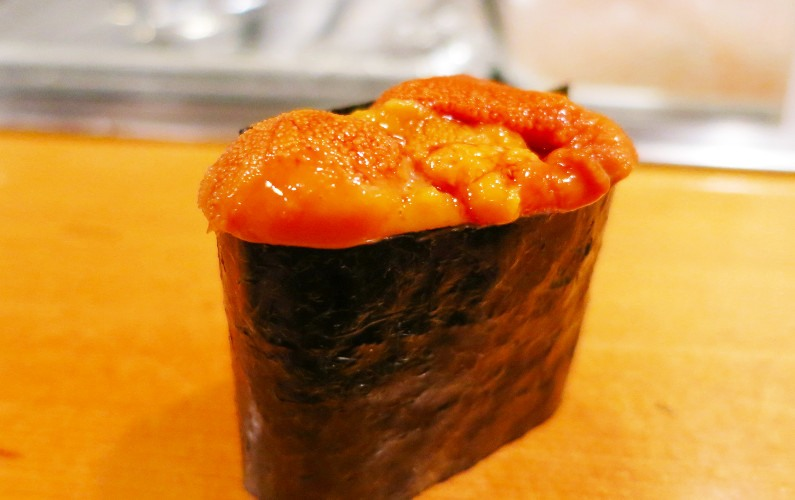Uni Nigiri Sushi Dai Tokyo Japan