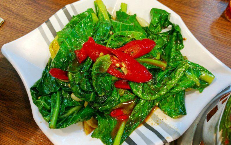 Vegetaables Thai Tantric Authentic Thai Cuisine Singapore